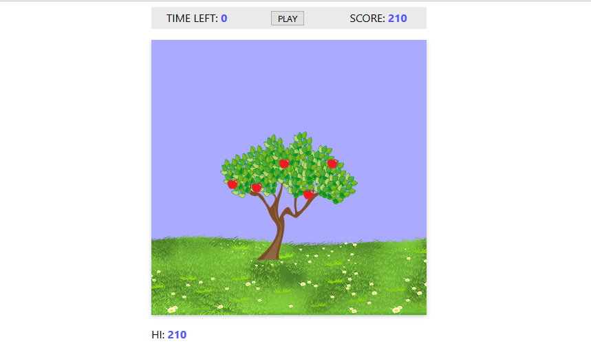 Game: Apple Collector from JS