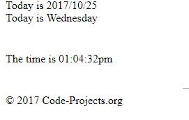 Date And Time – PHP Basics