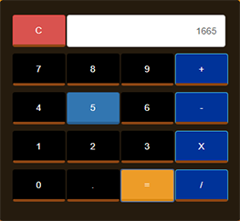 Calculator Using JavaScript