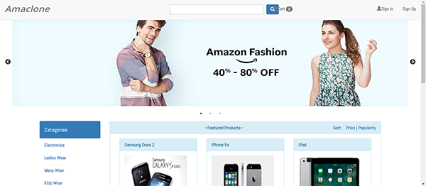 Php online shopping project download