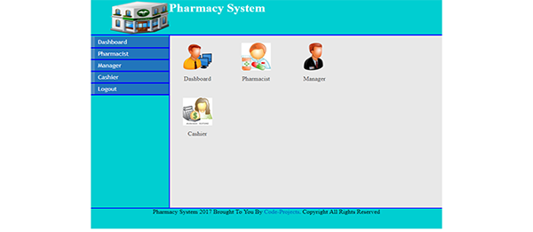 Pharmacy System Using PHP With Source Code