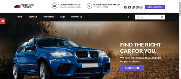 Online Car Rental Using PHP With Source Code