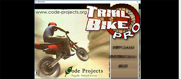 Bike Race Game In C++ With Source Code