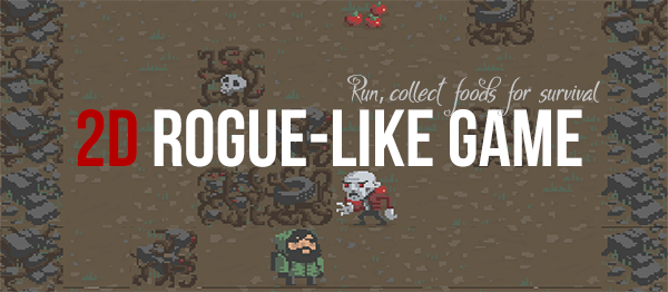 2D Rogue-Like Game Using Unity With Source Code