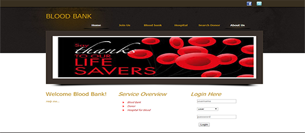 Blood Bank Management System In Java, JSP, Servlet Web Application With Source Code