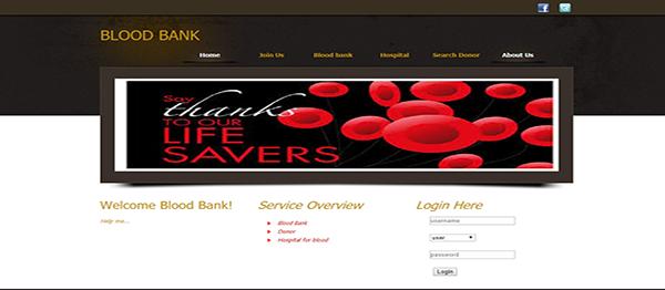 Blood Bank Management System In Java, JSP, Servlet Web Application