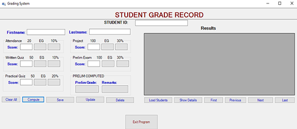 Student Grading System In C# With Source Code