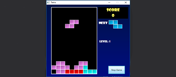 Tetris Game In C# With Source Code