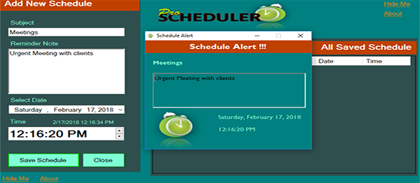 Daily Scheduler In VB.NET With Source Code