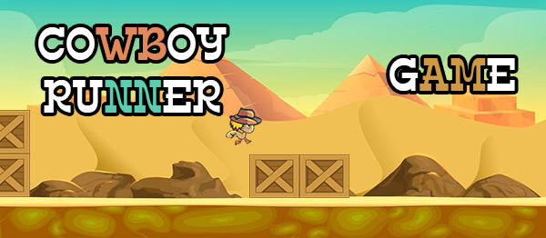 Cowboy Runner Game In Unity Engine With Source Code