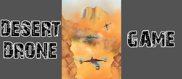 Desert Drone Game Using Unity With Source Code