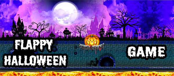 Flappy Halloween Game In UNITY Engine With Source Code