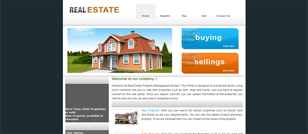 Real Estate Property Management System In PHP With Source Code