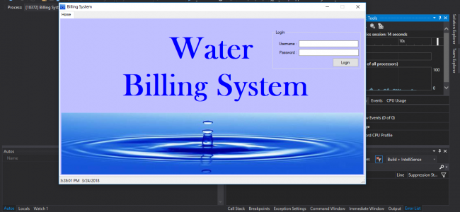 Water Billing System In VB NET With Source Code | Source