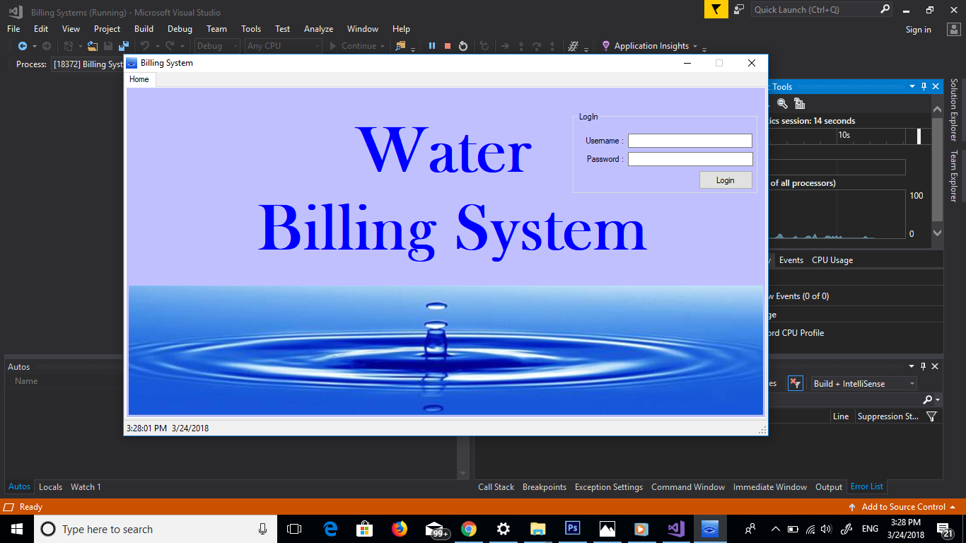 Water Billing System In Vb Net With Source Code Source