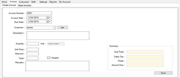 Water Billing System In VB NET With Source Code | Source Code & Projects