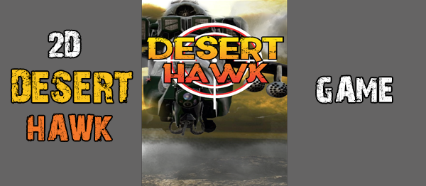 2D Desert Hawk Game In Unity With Source Code