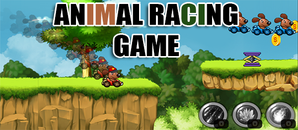 Animal Racing Game In UNITY ENGINE With Source Code