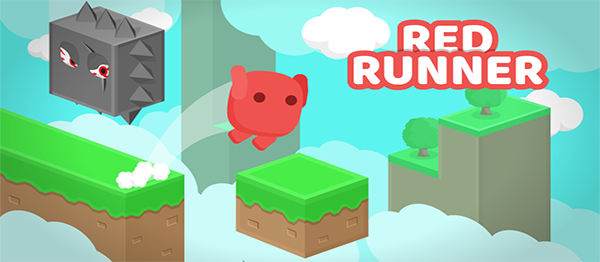 Red Runner Game In UNITY ENGINE With Source Code