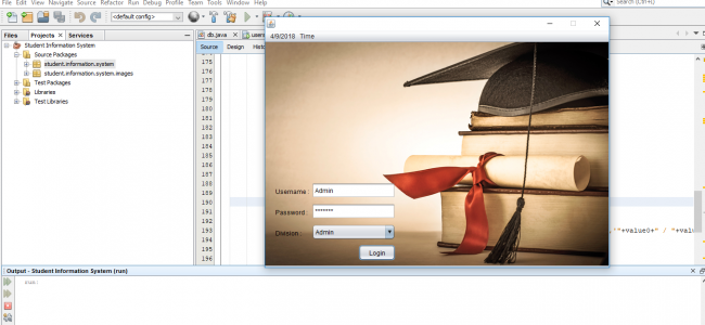 Student Management System In Java Using NetBeans With Source Code