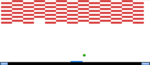 BLOCK BREAKER GAME IN JAVASCRIPT AND HTML5 WITH SOURCE CODE