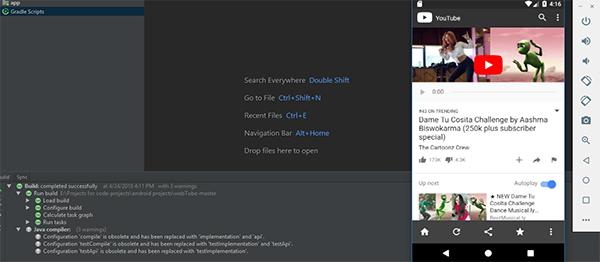 YouTube Video Player In Android Studio With Source Code | Source