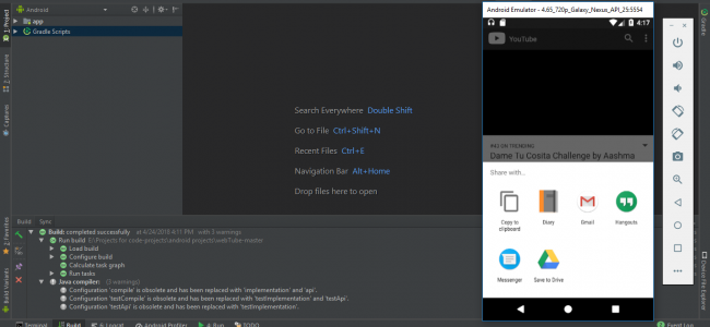 YouTube Video Player In Android Studio With Source Code