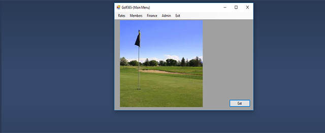 Golf Membership Management System In C# With Source Code