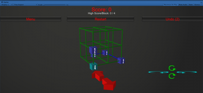 2048 - 3D Game In UNITY ENGINE With Source Code | Source Code & Projects