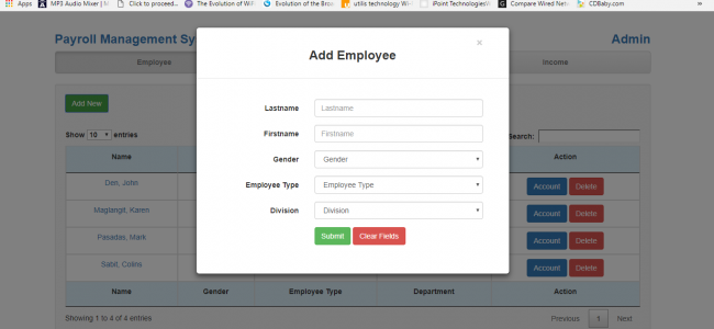 Payroll Management System In PHP With Source Code | Source Code