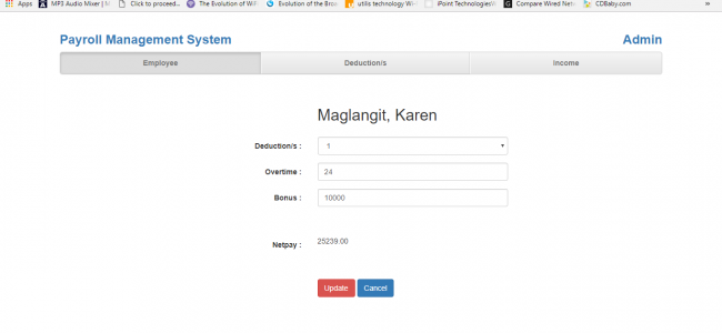 Payroll Management System In PHP With Source Code | Source
