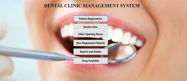 Dental Clinic Management System In VB.NET With Source Code