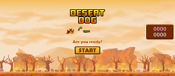 Desert Dog Game In UNITY ENGINE With Source Code