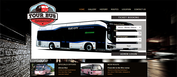 Online Bus Reservation System In PHP With Source Code