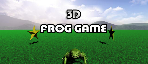 3D Frog Game In UNITY ENGINE With Source Code
