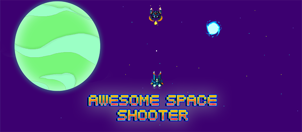 Space Shooter Game In UNITY ENGINE With Source Code