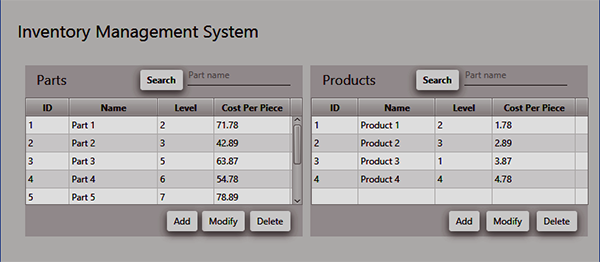 Inventory Management System In Java Using NetBeans With