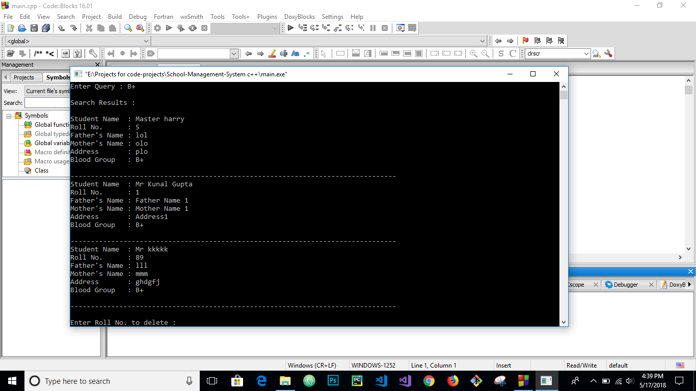 Chat Room C Source Code