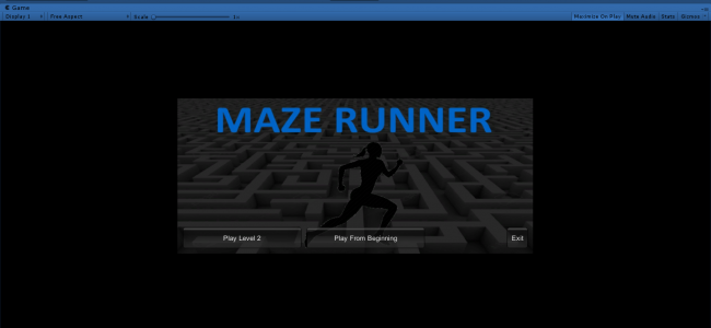 Maze Runner Game In UNITY ENGINE With Source Code | Source Code