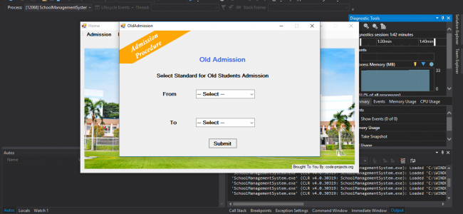 School Management System In C# With Source Code | Source Code & Projects