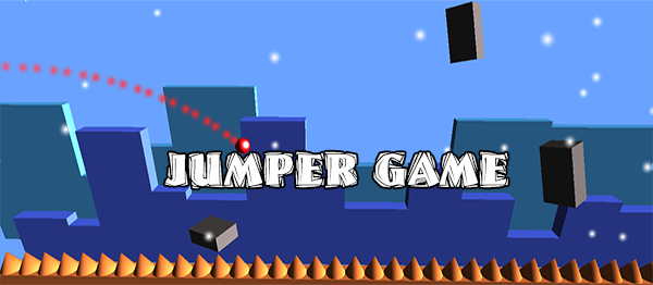 Jumper Game In UNITY ENGINE With Source Code
