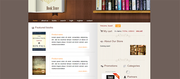 Online Book Store In Java And JSP With Source Code