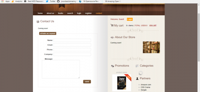 Online Book Store In Java And JSP With Source Code | Source Code