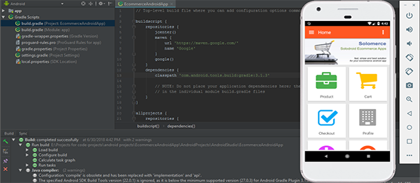 Code source android studio