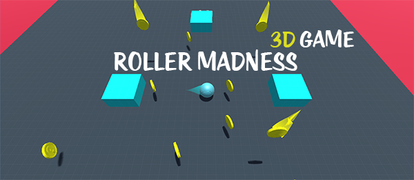 Roller Madness Game In UNITY ENGINE With Source Code