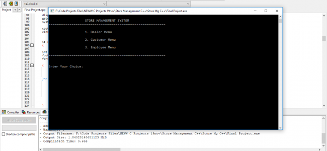 Store Management System In C++ With Source Code | Source