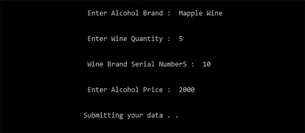 Wine Shop Management System In C++ With Source Code