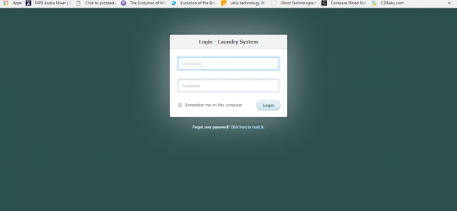 Laundry System In PHP With Source Code | Source Code & Projects