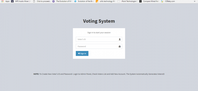 Online Voting Software