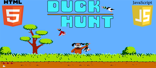 Duck Hunt Game In HTML5 And JavaScript With Source Code